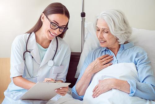 Medical help the elderly